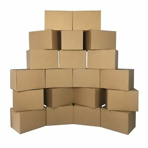Uboxes Medium Cardboard Moving Boxes 20 Pack 18 X 14 X 12 inch