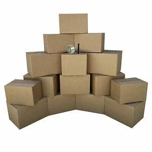 Moving Boxes 1 Bedroom Economy 15 Moving Box Kit Plus Moving Supplies
