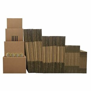 9 Room Economy Kit 112 Moving Boxes Packing Supplies