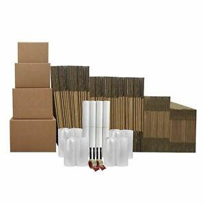9 Room Basic Moving Kit 125 Moving Boxes 128 In Supplies