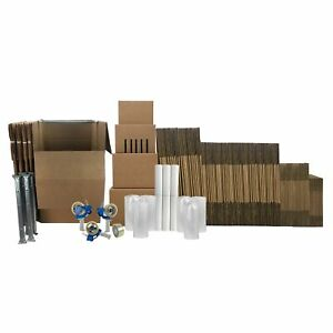 Wardrobe Moving Kit 10 Rooms Multiple Closets With 5 Wardrobes