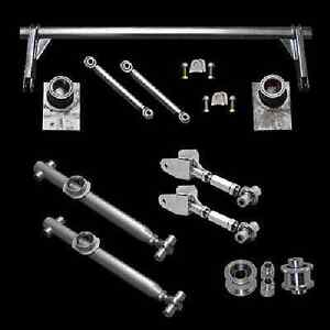 1999 2000 Mustang Pro Series Chrome Moly Rear Suspension Kit Arms Anti Roll Bar