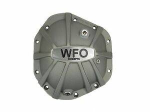 Wfo Dana 60 70 Front Rear Xtreme Aluminum Differential Cover Wfo D60 70xs