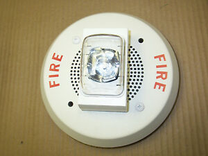 Faraday 2958 White Speaker Ceiling Mount Fire Alarm