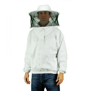 Professional grade Bee Keeping Suit Jacket Round Style Hood X Large Size