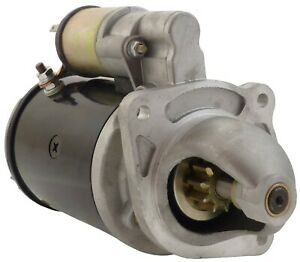 New Starter For Ford Diesel Tractor 2000 3000 4000 5000 26211 26211a 26211e