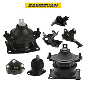 Engine Motor Trans Mount Set 7pcs For 2004 2008 Acura Tsx 2 4l L4 For Auto