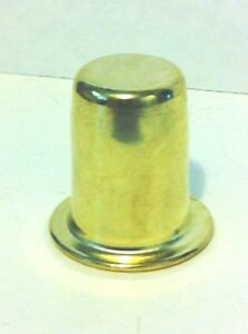 20993 1 Ht Brass Plated Lacq Finial 1 4 27f