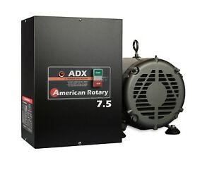 Rotary Phase Converter Adx7 7 5 Hp 1 To 3 Phase Cnc Extreme Duty American Made