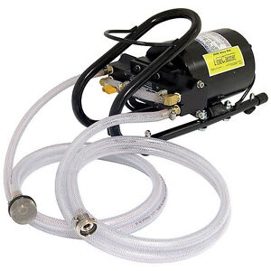 Heavy Duty Draft Beer Line Cleaning Pump Commercial Bar Restaurant Hose Kit