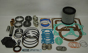 Quincy 390 22 23 Record Of Change Major Overhaul Kit Air Compressor Parts