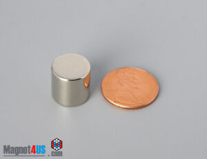 50 Pcs Super Strong Neo Magnets 1 2 dia X1 2 thick Neodymium Rare Earth Cylinder