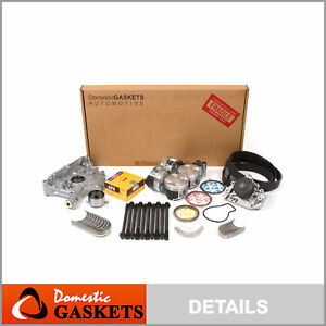 97 01 Acura Integra Type r 1 8l Dohc Master Overhaul Engine Rebuild Kit B18c5