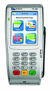 New Verifone Vx680 Wifi Emv Nfc Wireless Credit Card Machine M268 783 c4 usa 3