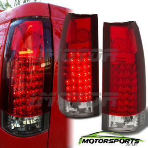 1988 1999 Chevy Gmc C K Silverado Suburban Tahoe Sierra Escalade Led Tail Lights