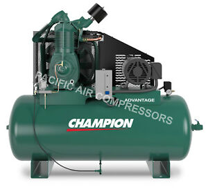 Champion Air Compressor Hra15 12 Fully Packaged 15 Hp 3 Phase 230v 7100e15fp
