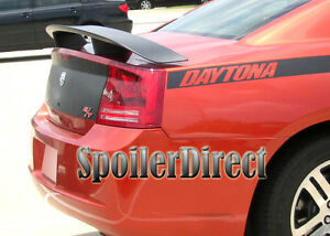 2006 2010 Dodge Charger Daytona Srt8 Style Spoiler Rear Deck Wing Unpainted