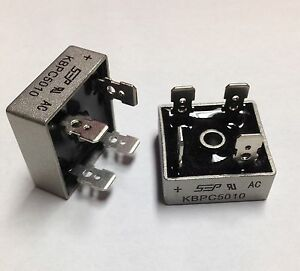 Bridge Rectifier 1ph 50a 1000v 50 Amp Metal Case 1000 Volt 50a Diode 20 Pcs Us