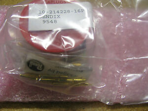 Bendix Connector With Contacts 10 214228 16p Nsn 5935 00 916 0319