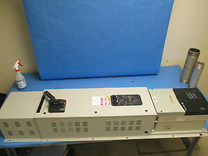 Allen bradley Powerflex 400 Ac Drive W Bypass 22c d060a103 40hp 3ph Used