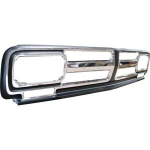 1971 1972 Gmc Pickup Truck Grille Grill Triple Chrome Plated Dynacorn