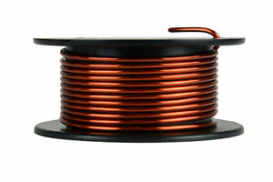 Temco Magnet Wire 10 Awg Gauge Enameled Copper 4oz 8ft 200c Coil Winding