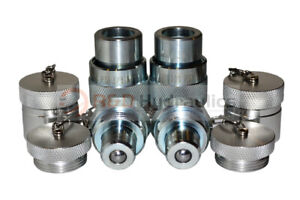 2pk 10 000psi Hydraulic Quick Coupler Set for Enerpac