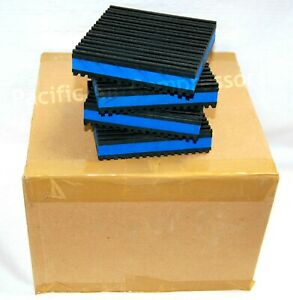 4 X 4 Industrial Isolator Pads Case Of 24 Vibration Pads Air Compressor Parts