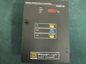 Square D Digital Temperature Controller Model 98