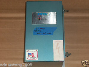 Softron S3410 Motor Drive 10hp 460v 60hz Ac Soft Start