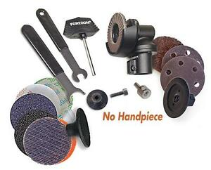 Foredom Angle Grinder Attachment Kit Ak69110 With Accessories