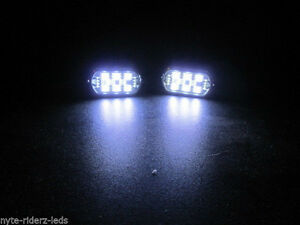 White 5050 Smd Led 4 Pods Controller 4 Key Remote Fits Cars Trucks Motorcyles
