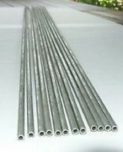 Inconel 600 Seamless Tube 1 4 Od X 049 Wall X 48 00 With Certified Test Report