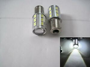2 Pcs 1156 7506 15w Samsung 5630 Led Cree High Power Led White Projector Len