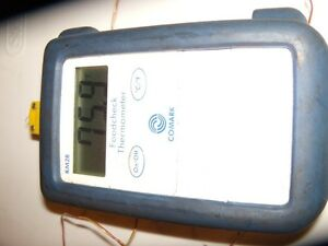 Comark Km28 p13 Digital Thermocouple Thermometer Working Calibrated