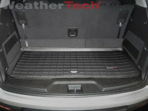 Weathertech Trunk Cargo Liner For Acadia Acadia Limited Outlook Small Black