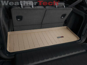 Weathertech Cargo Liner For Bmw X5 Behind 3rd Row 2007 2018 Tan