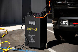 55 Amp Portable 12 24 Volt Automatic Car Truck Battery Charger W Starter New