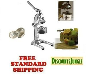 Brand New Heavy Duty Commercial Manual Citrus Juicer Extractor Press Metal