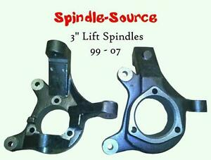 2000 2006 Chevrolet Suburban 1500 2wd 3 Lift Spindles Knuckles 3 In 00 06