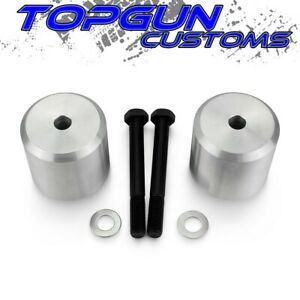 2 Front Spacer Level Lift Kit For 05 20 Ford F 250 F 350 Super Duty 4wd Silver