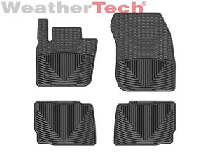 Weathertech All Weather Floor Mats For Ford Fusion Lincoln Mkz 2013 2016 Black