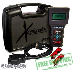 Ppe Xcelerator Economy Tuner For 01 10 Chevrolet Gmc Hd 6 6l Duramax 111010000