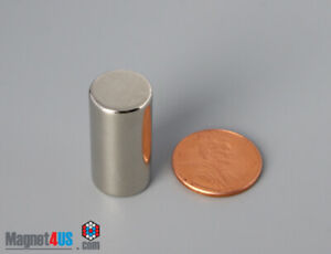 20pcs Super Strong Neodymium Rare Earth Magnet Sale Cylinder 1 2 Dia X 1 Thick