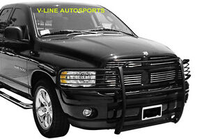 2003 2005 Dodge Ram 2500 3500 Black Grill Guard Brush Guard Grille