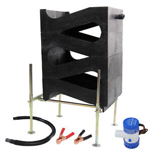 Gold Cube 4 Stack Deluxe Complete Kit For Gold Prospecting Fast Recovery Sluice