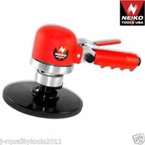AIR POWER DRIVEN DUAL ACTION ROUND ORBITAL DA DA DISC SANDER AUTO CAR BODY TOOL