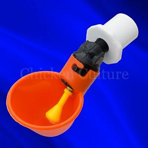 12 Pack Poultry Water Drinking Cups Chicken Hen Automatic Drinker