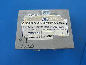 Meyer 001359 M o Plug Gages Pin Gage Set 0002