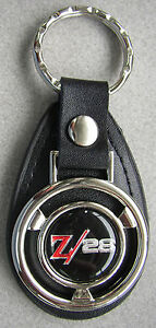 Z28 Camaro Vintage Chevy Mini Steering Wheel Leather Key Ring 1999 2000 2001